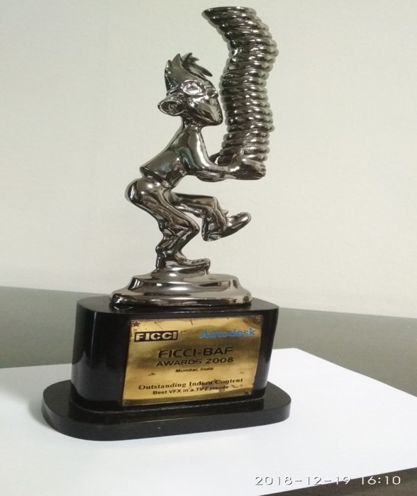 Reliance Animation — FICCI Best Animated Frames [BAF] Awards - Little Krishna - Outstanding Indian Animated Content Award