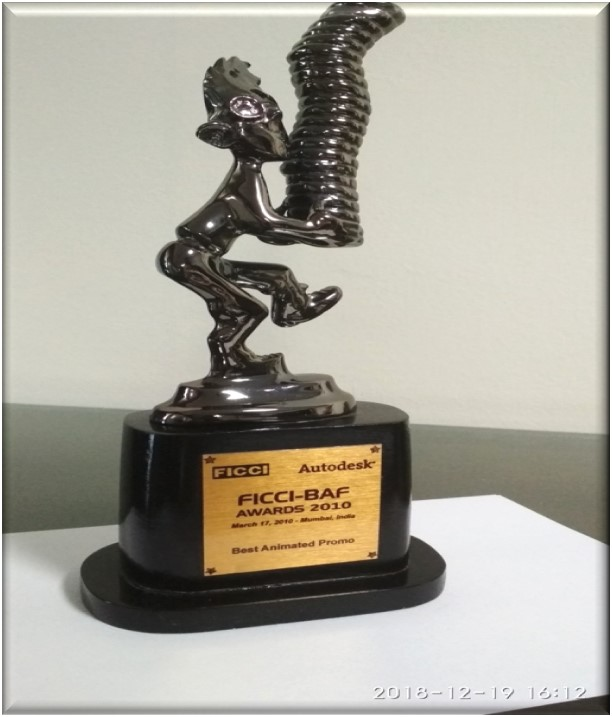 Reliance Animation — FICCI Best Animated Frames [BAF] - Ghost Station - Best Animated Promo Award