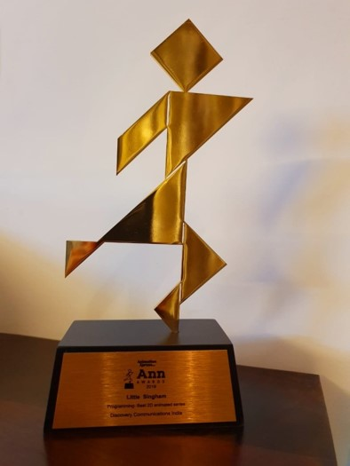 Reliance Animation — ANN Awards - Little Singham - Best Animated Series Award