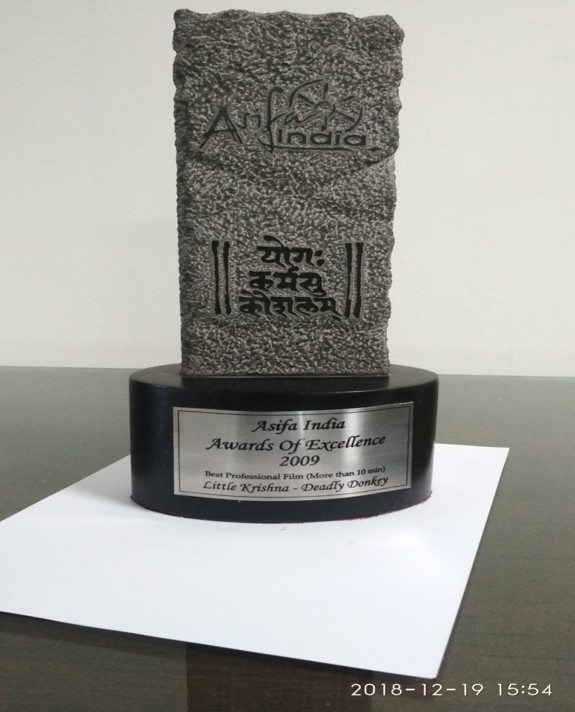 Reliance Animation — ASIFA Awards Of Excellence - Little Krishna – Deadly Donkey - Best Professional Film